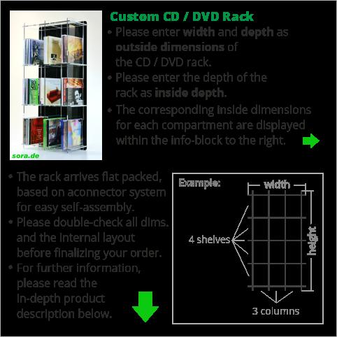 Custom CD / DVD Rack